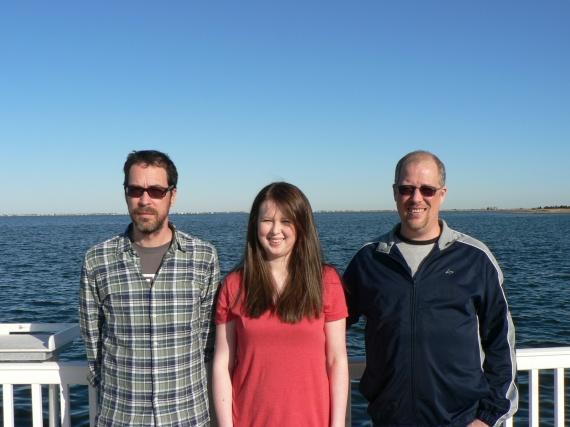 Jamie, Amelia, Doug