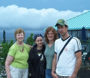 Jane, Hayden, Laura, and second son Jamie
