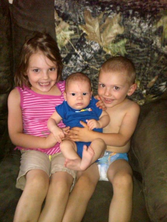 Julia, Owen, Everett